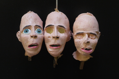 collaboration project ! Colouring Foam Latex Puppets. Colouring by Me, Puppets by Iñaki Carbonell