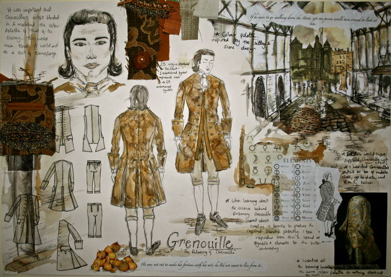 Character Design Mood Board : Danielle cullen london college of fashion showtime