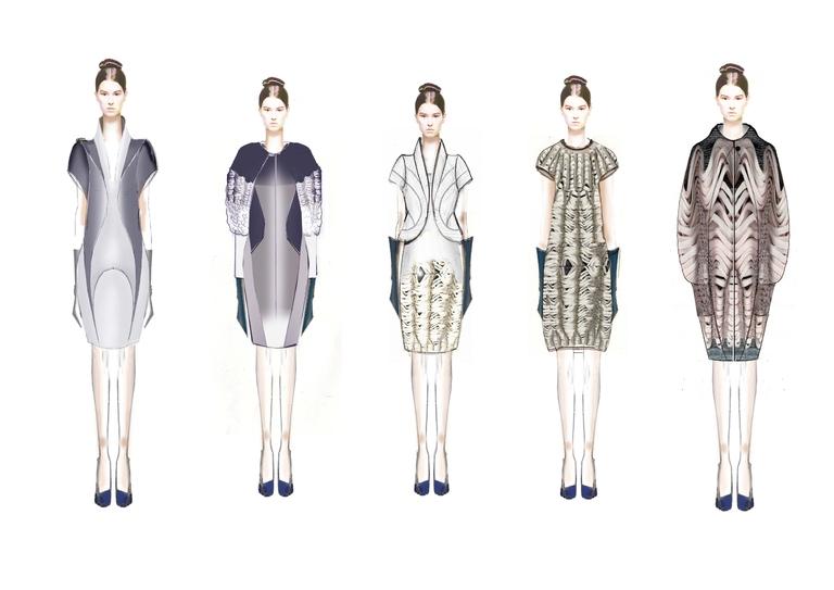 Line In Fashion Design : Bhaviya rana london college of fashion showtime