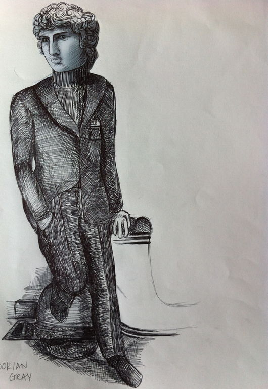 Character Design In The Picture Of Dorian Gray : Angharad reed london college of fashion showtime